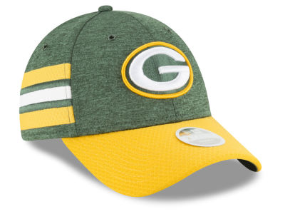 Green Bay Packers New Era 2018 Official NFL Women's Sideline Home 9FORTY Cap