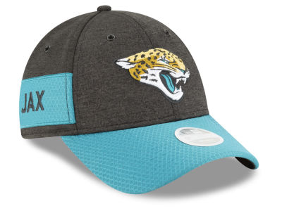 Jacksonville Jaguars New Era 2018 Official NFL Women's Sideline Home 9FORTY Cap