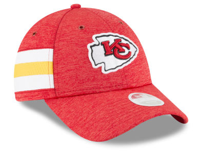Kansas City Chiefs New Era 2018 Official NFL Women's Sideline Home 9FORTY Cap