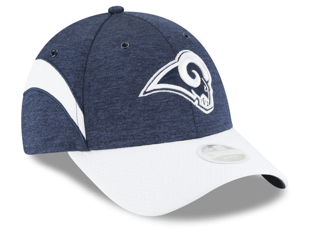Los Angeles Rams New Era 2018 Official NFL Women s Sideline Home 9FORTY Cap   bc1c41ef63f