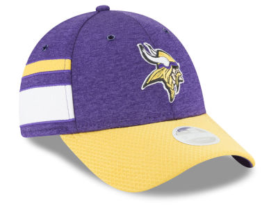 Minnesota Vikings New Era 2018 Official NFL Women's Sideline Home 9FORTY Cap