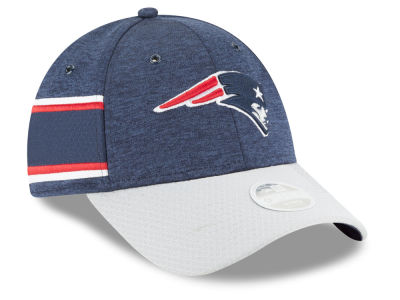 New England Patriots New Era 2018 Official NFL Women's Sideline Home 9FORTY Cap