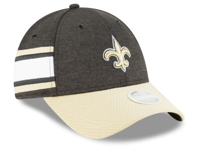 New Orleans Saints New Era 2018 Official NFL Women's Sideline Home 9FORTY Cap
