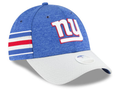 New York Giants New Era 2018 Official NFL Women's Sideline Home 9FORTY Cap