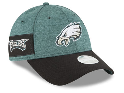 Philadelphia Eagles New Era 2018 Official NFL Women's Sideline Home 9FORTY Cap