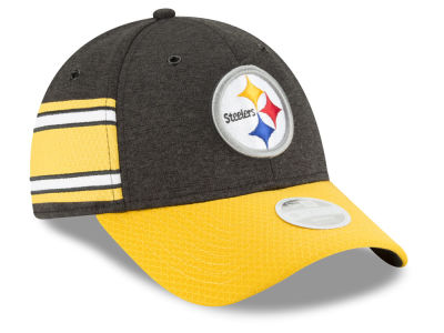 Pittsburgh Steelers New Era 2018 Official NFL Women's Sideline Home 9FORTY Cap