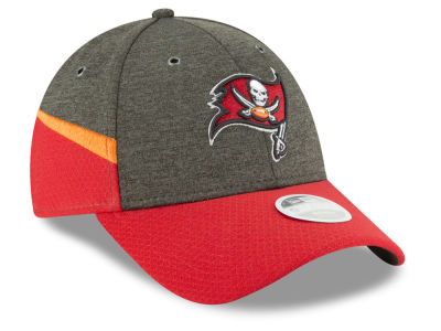 Tampa Bay Buccaneers New Era 2018 Official NFL Women's Sideline Home 9FORTY Cap