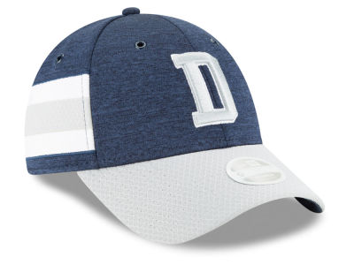 Dallas Cowboys New Era 2018 Official NFL Women's Sideline Home 9FORTY Cap
