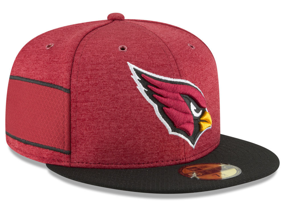 Arizona Cardinals New Era 2018 Official NFL Kids Sideline Home 59FIFTY Cap   d75c1db1341