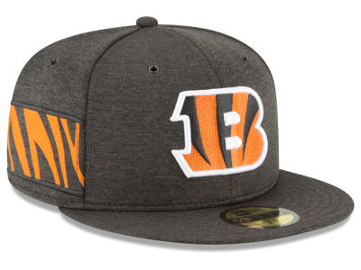 Cincinnati Bengals New Era 2018 Official NFL Kids Sideline Home 59FIFTY Cap
