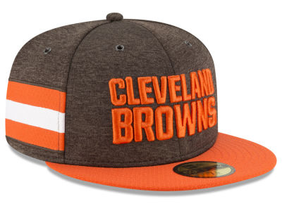 Cleveland Browns New Era 2018 Official NFL Kids Sideline Home 59FIFTY Cap