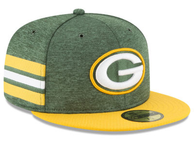 Green Bay Packers New Era 2018 Official NFL Kids Sideline Home 59FIFTY Cap