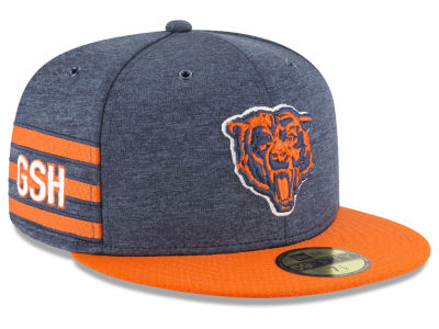 Chicago Bears New Era 2018 Official NFL Kids Sideline Home 59FIFTY Cap