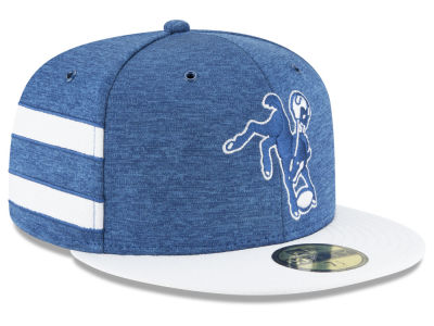 Indianapolis Colts New Era 2018 Official NFL Kids Sideline Home 59FIFTY Cap