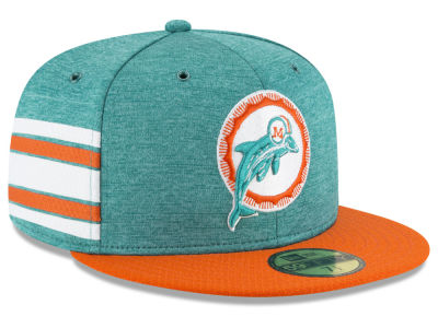 d62dfec689b uk miami dolphins new era 2018 official nfl kids sideline home 59fifty cap  45a17 6f035