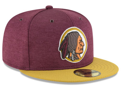 Washington Redskins New Era 2018 Official NFL Kids Sideline Home 59FIFTY Cap