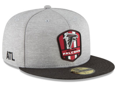 Atlanta Falcons New Era 2018 Official NFL Kids Sideline Road 59FIFTY Cap