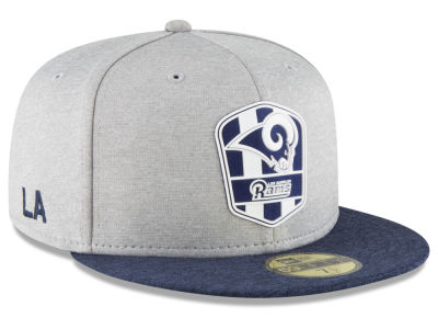 size 40 a326c 13a99 ... clearance los angeles rams new era 2018 official nfl kids sideline road 59fifty  cap de38e 53118