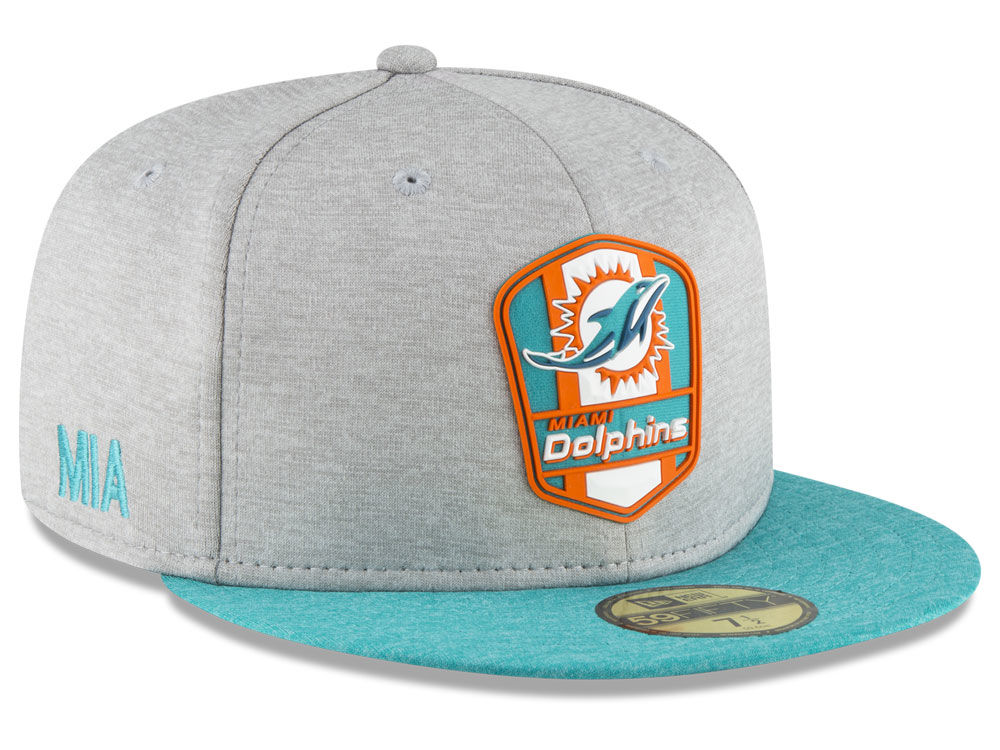 new product c0b09 b80dd ... knit hat olive 01da4 49cc3  order miami dolphins new era 2018 official  nfl kids sideline road 59fifty cap 2263e 5c180