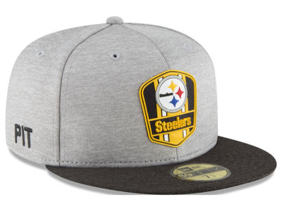 2018 Official chapeau de la route 59FIFTY de ligne de touche d'enfants de NFL