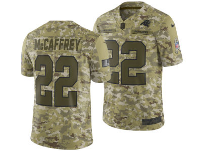 Carolina Panthers Christian McCaffrey Nike 2018 NFL Men's Salute To Service Jersey