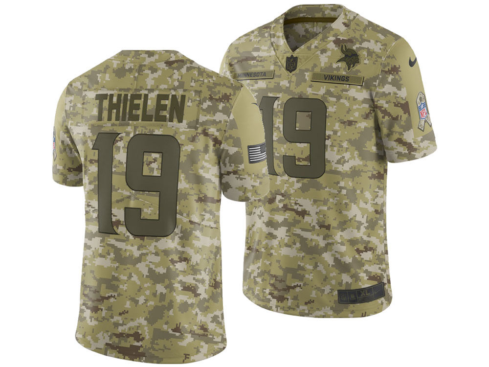 ... cheap minnesota vikings adam thielen nike 2018 nfl mens salute to  service jersey 675e0 e432b ... 92481ca19