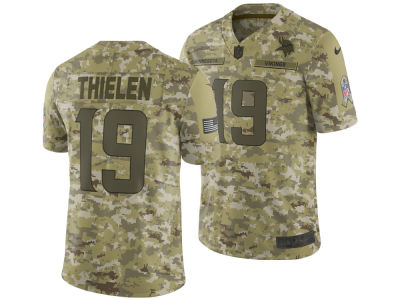 Minnesota Vikings ADAM THIELEN Nike 2018 NFL Men's Salute To Service Jersey