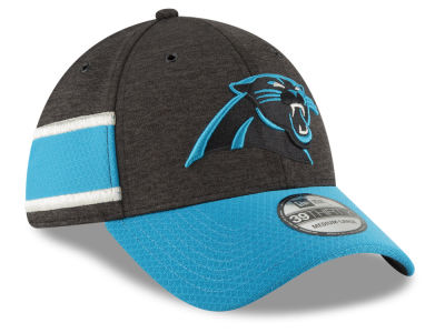Carolina Panthers New Era 2018 Official NFL Kids Sideline Home 39THIRTY Cap