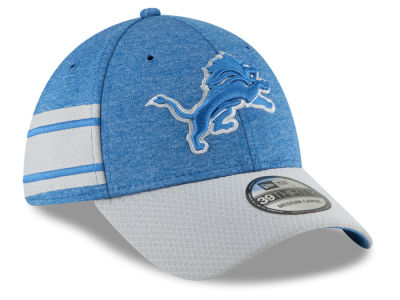 Detroit Lions New Era 2018 Official NFL Kids Sideline Home 39THIRTY Cap