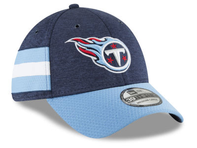 Tennessee Titans New Era 2018 Official NFL Kids Sideline Home 39THIRTY Cap