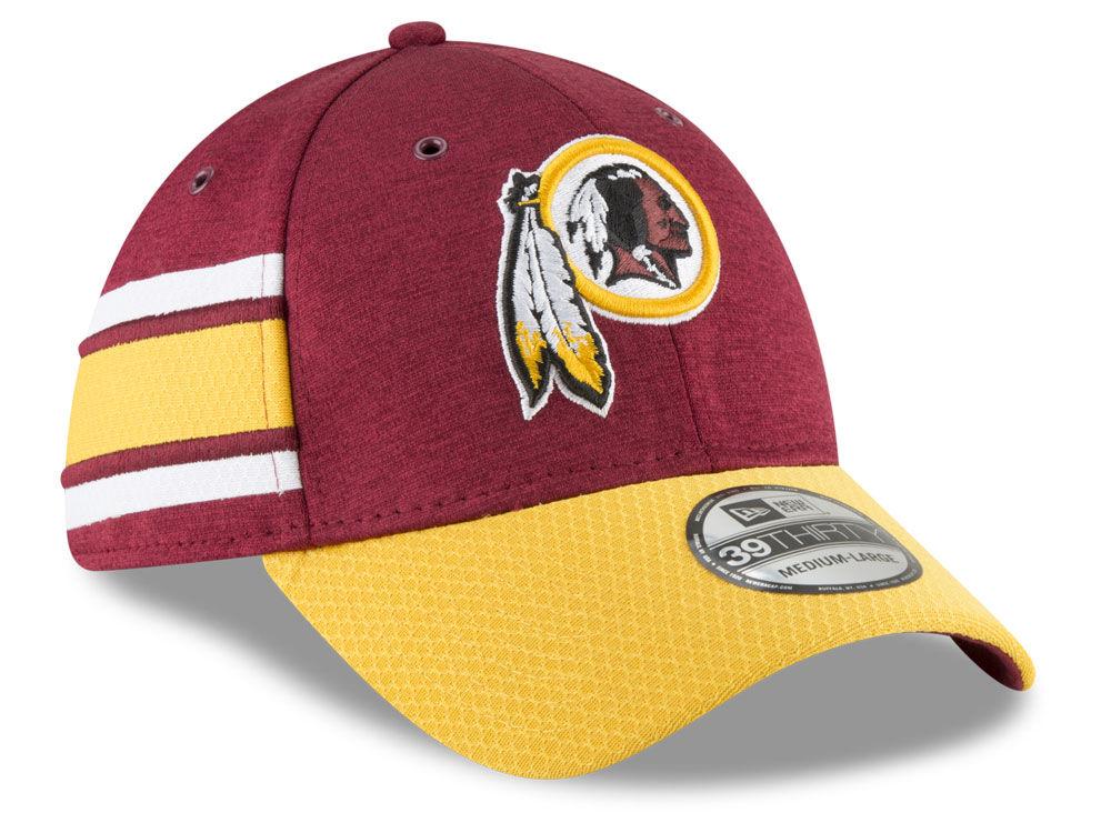 9138641bc Washington Redskins New Era 2018 Official NFL Kids Sideline Home 39THIRTY  Cap