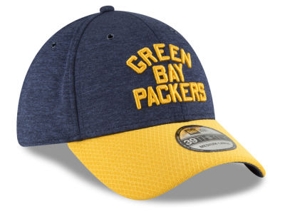 Green Bay Packers New Era 2018 Official NFL Kids Sideline Home 39THIRTY Cap