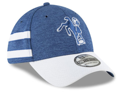 Indianapolis Colts New Era 2018 Official NFL Kids Sideline Home 39THIRTY Cap
