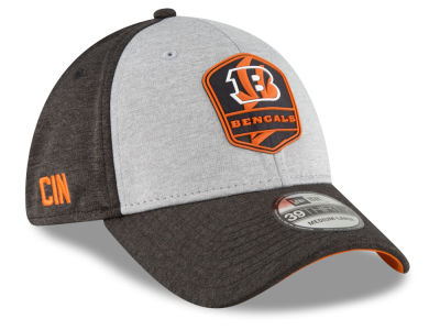 Cincinnati Bengals New Era 2018 Official NFL Kids Sideline Road 39THIRTY Cap