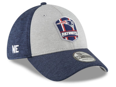 New England Patriots New Era 2018 Official NFL Kids Sideline Road 39THIRTY Cap