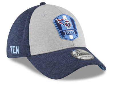 Tennessee Titans New Era 2018 Official NFL Kids Sideline Road 39THIRTY Cap