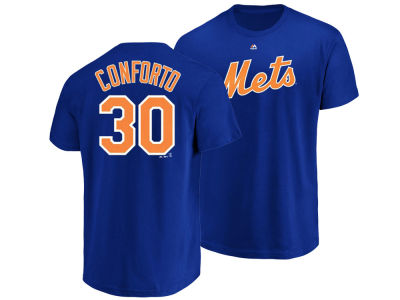 New York Mets Michael Conforto Majestic MLB Kids Official Player T-Shirt