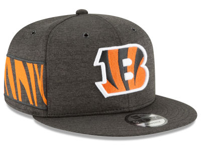 Cincinnati Bengals New Era 2018 Official NFL Kids Sideline Home 9FIFTY Snapback Cap