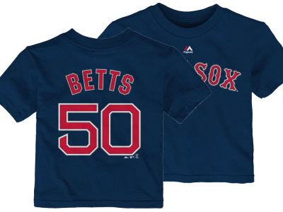 Boston Red Sox Mookie Betts Majestic MLB Infant Official Player T-Shirt