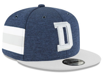 Dallas Cowboys New Era 2018 Official NFL Kids Sideline Home 9FIFTY Snapback Cap
