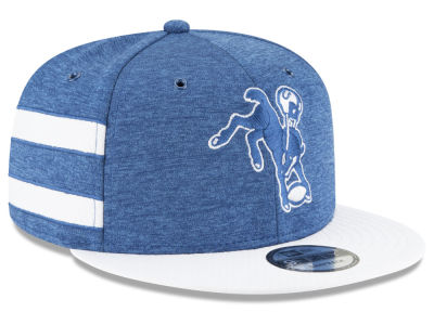 Indianapolis Colts New Era 2018 Official NFL Kids Sideline Home 9FIFTY Snapback Cap