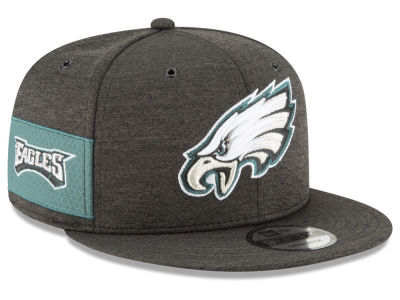 Philadelphia Eagles New Era 2018 Official NFL Kids Sideline Home 9FIFTY Snapback Cap