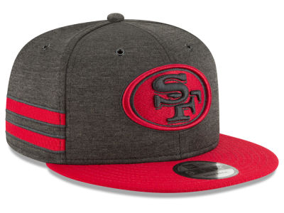 San Francisco 49ers New Era 2018 Official NFL Kids Sideline Home 9FIFTY Snapback Cap