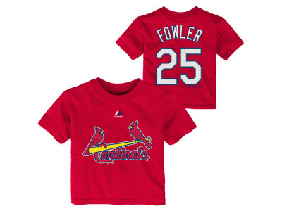St. Louis Cardinals Dexter Fowler Majestic MLB Infant Official Player T-Shirt