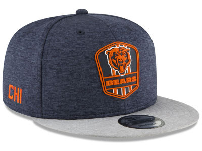 Chicago Bears New Era 2018 Official NFL Kids Sideline Road 9FIFTY Snapback Cap