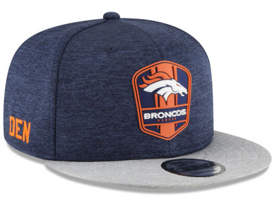 Denver Broncos New Era 2018 Official NFL Kids Sideline Road 9FIFTY Snapback Cap