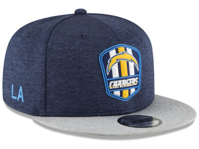 Los Angeles Chargers New Era 2018 Official NFL Kids Sideline Road 9FIFTY Snapback Cap