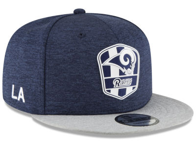 2018 Official chapeau de la route 9FIFTY Snapback de ligne de touche d'enfants de NFL