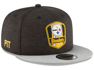 Pittsburgh Steelers New Era 2018 Official NFL Kids Sideline Road 9FIFTY Snapback Cap
