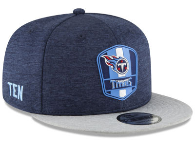 Tennessee Titans New Era 2018 Official NFL Kids Sideline Road 9FIFTY Snapback Cap